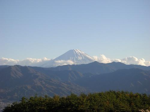 091117 秋CAMP ほったらかし温泉 富士山01