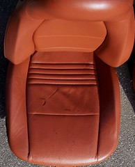 99PorscheCoupe5 (truckandcarseats) Tags: red leather 1999 porsche boxster coupe fronts