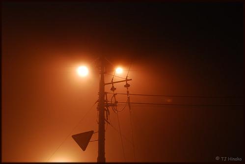 Фонарь в тумане