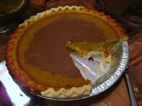 the pumpkin pie (GF)