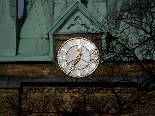 Haga church clock