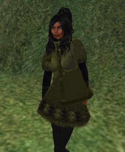 Moxie Polano's Pine Tree Green