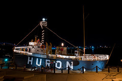 Lightship Huron and It's Many Lights