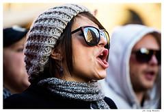 Face  No B-Day (luigi_bonadio) Tags: b people roma day foto 5 no protesta bday popolo viola dicembre comunista berlusconi volti manifestazione rifondazione rivolta antiberlusconi luislacar