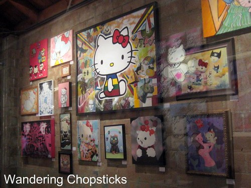 Royal T (Three Apples - An Exhibition Celebrating 35 Years of Hello Kitty and In Bed Together - Art & Bites from Ludo Lefebvre) - Culver City 23