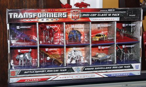 TFU Mini-Con Class 10 Pack