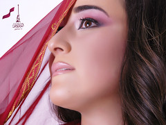 Qatar National Day Theme (S.H Make-Up Artist) Tags: happy day makeup national  yalda   qnd