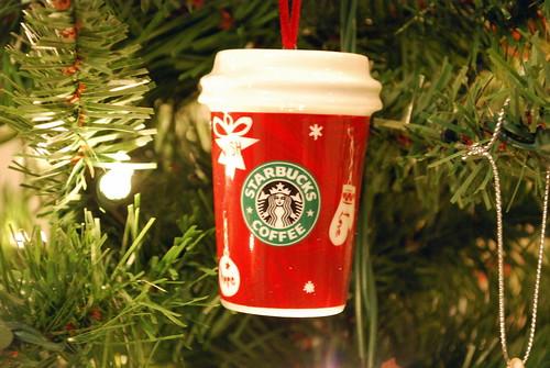 Starbucks Hot Cup Ornament