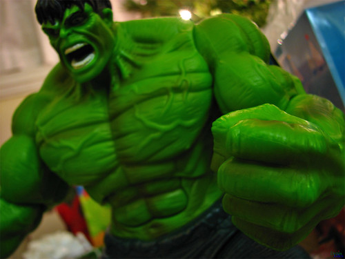 """Hulk Smash!!"" by DenisGiles."