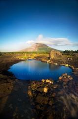 mayon sunrise vertical (dinno19) Tags: flow lava mayon bicol eruption legazpi albay
