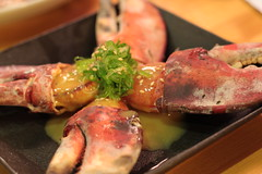 chef's choice - broiled lobster claws with sweet miso