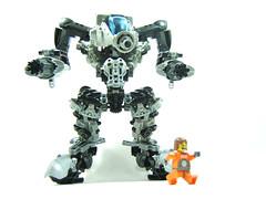 J-35 Enforcer 5 (optimus-convoy) Tags: robot lego bionicle mecha mech