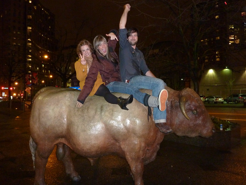 Riding the Bull