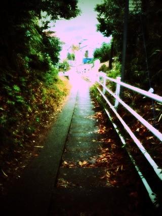 駅までの道、人っ子一人みかけず若干不安になる。