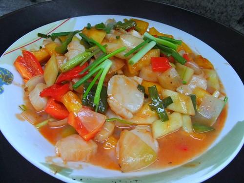 Stir-Fry Seafood