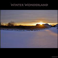 My Backyard + NY Blizzard = Winter Wonderland - IMRAN™ Stunning, snow filled landscape at Sunset. 18,000+ Views 430+ Comments 80+ Favorites! (ImranAnwar) Tags: winter sunset sky sun snow newyork fall nature silhouette yellow clouds square outdoors landscapes suffolk nikon seasons framed peaceful tranquility longisland boardwalk wonderland 2009 imran lifestyles d300 patchogue imrananwar bej eastpatchogue abigfave anawesomeshot flickrestrellas flickrclassique flickraward5