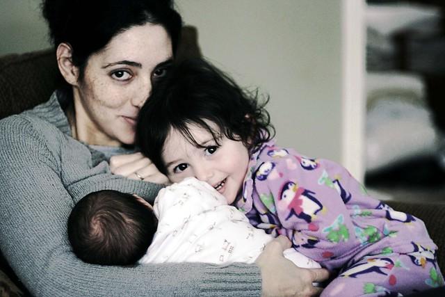 Naz & her babies