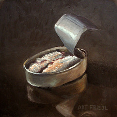 Sardines 2 (fRiedl aRt) Tags: art oil sardines friedl rockford masonite artfriedl