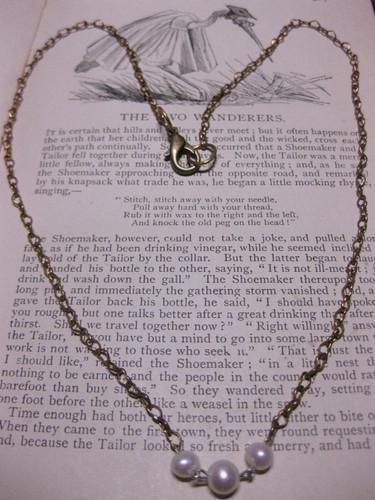 Valentine's necklace