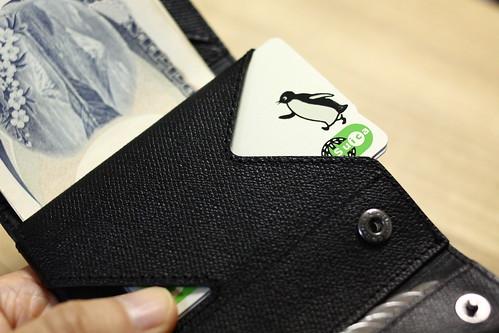 薄い財布(カード入れ)
