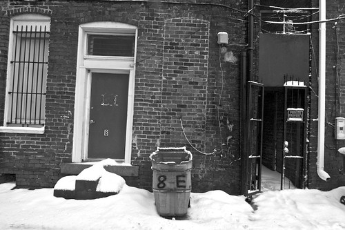 8 E. Broad, Friday Snow Day 2010