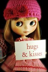 Lark sends Hugs & Kisses