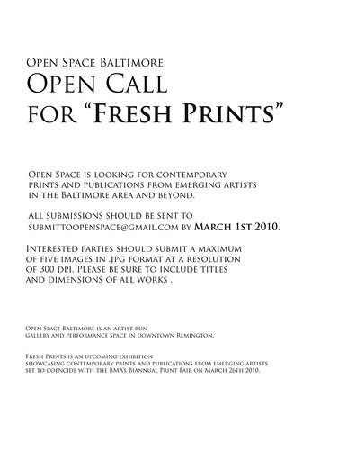 Fresh Prints Flyer