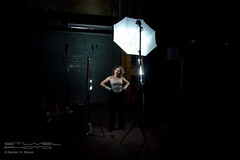 Setup shot for Bloody Marit