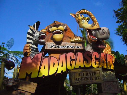 Universal Studios Singapore Magadascar