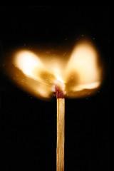 Fire in da hole! (aperture value) Tags: speed fire high hole flame burn da match sulphur striking