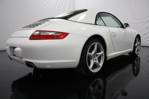 Crystal Clean White Porsche 911 Carrera 4S In The Vehicle Photography  Studio At Crystal Clean Auto Detailing In Grand Rapids, MI.