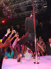 KELLY ROWLAND PERFORMS AT HAZE