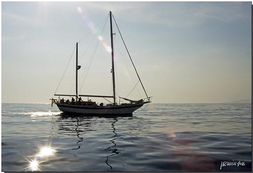 El mar y el velero