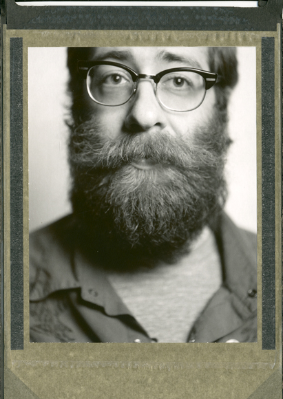 "Polaroid of Michael ""Mackle"" Eades from the Whiskerino Throwdown"