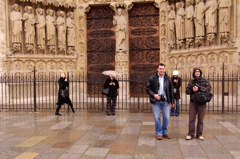 Photos de rencontre Notre Dame et autres  - un americian à paris 4397790895_1abe8f4372_o