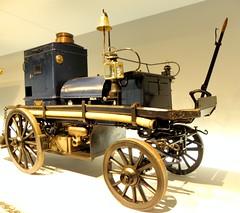 Motor-Feuerspritze, 1892, 7 PS