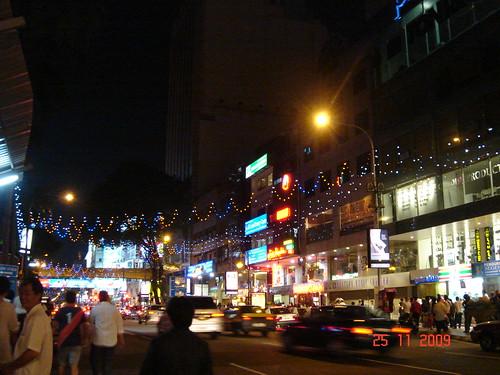DSC02074 Jalan Bukit Bintang ,Kuala Lumpur at Night