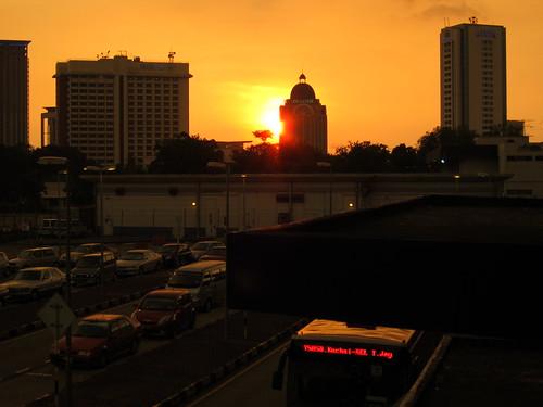 Sunset at KL
