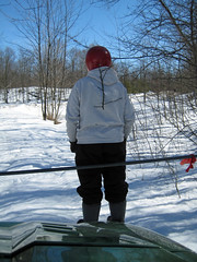 Hitch-hiker (REGOR NOTPUL) Tags: fishing icefishing qubs fisheriesresearch
