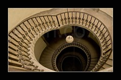 S P I R A L L E D (A y A n) Tags: india west stairs canon lens spiral rebel staircase kit 18 55 kolkata bengal calcutta bengali ayan xti 400d khasnabis ayancoin