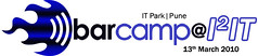 Barcamp@I2IT is on 13 March, Saturday. Anybody can attend, and its Free. A barcamp is a technology conference with a fluid agenda. Click on this picture to see all PuneTech posts about previous Barcamps