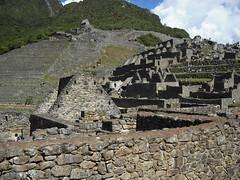 Zona Urbana e Zona Agrícola, Machu Picchu, Peru.