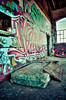 South Pacific Roundhouse (3rdeyepro) Tags: sf sanfrancisco ca abandoned station train graffiti ruin brisbane roundhouse