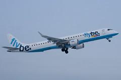 G-FBEG - 19000120 - FlyBe - Embraer ERJ-190-200LR 195LR - Luton - 091221 - Steven Gray - IMG_5549