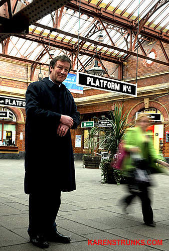 Adrian Shooter Chiltern Railways by Karen Strunks