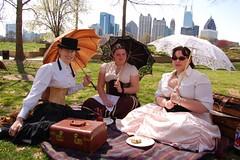 DSC_0577-1.JPG (sparr0) Tags: atlanta female costume picnic fb parasol p piedmontpark steampunkpicnic
