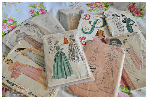 03.30.10 {vintage pattern finds}