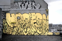 HORFE-FINK - 2010 (The Mouarf) Tags: paris graffiti spot 1984 horfe themouarf