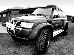 Nissan Patrol (trilabracing) Tags: iceland nissan offroad 4x4 arctic trucks suv patrol harcore