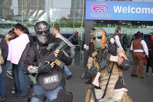 Wonder Con 2010: Army of Two